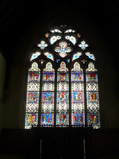 East window at All Saints